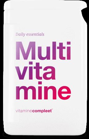 Multivitamine nieuwe formule – extra vitamine D3, ongewijzigde prijs!
