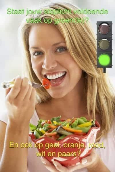 staat jouw stoplicht op voldoende groente?