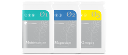 Kwartaalaanbieding Multivitamine Magnesium Omega-3 visolie