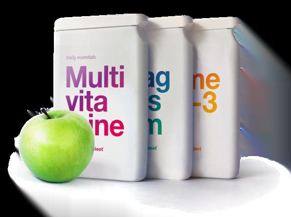 Vitaminecompleet Multivitamine Magnesium en Omega-3